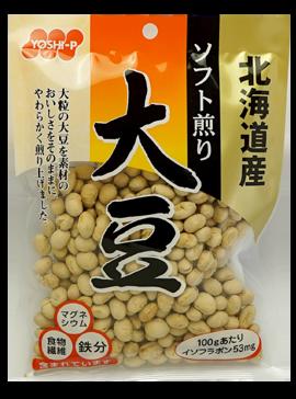 北海道産ソフト煎り大豆