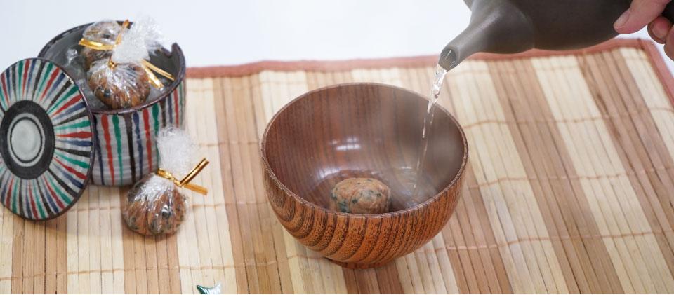 ≪レシピ≫落花生でコクうま♪便利なみそ玉を作ろう!